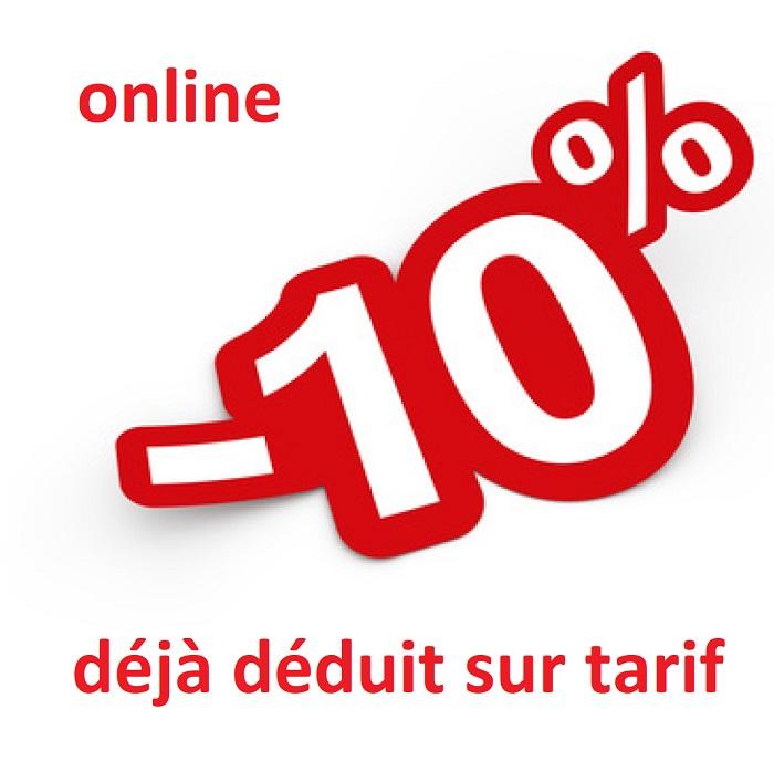 10%online