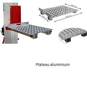 Adaptateur TORO plateau aluminium