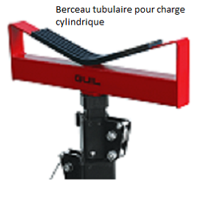 Berceau tubulaire pour charges cylindriques2