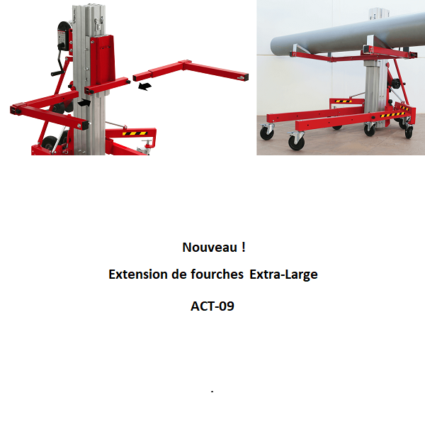 Extension de fourches Extra-Large TORO-ACT-09