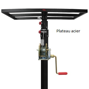 Plateau acier2