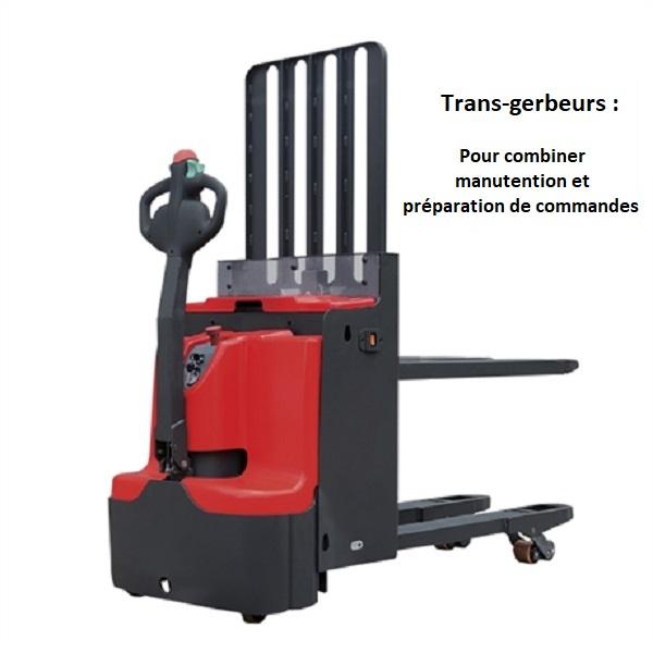 Trans-gerbeur électrique Stockman