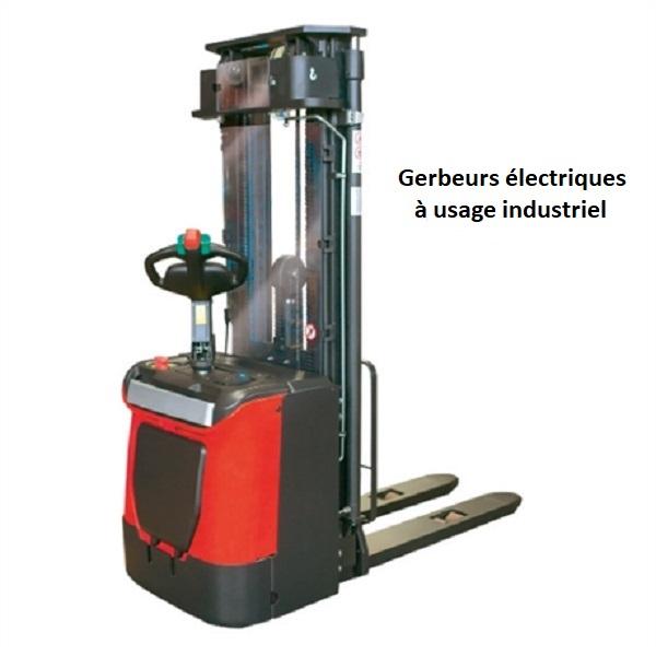 gerbeur-electrique-à usage industriel