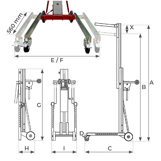 Gerbeur positionneur ME-R 2900