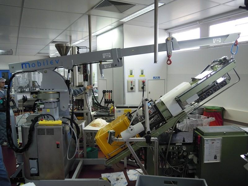 Mini-grue 12MO S180 V2 Salle Blanche (1000 kg)