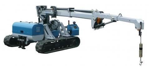 Mini-grue MOBILEV 25MT C360 (2500 kg) sur chenilles caoutchouc