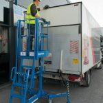Plateforme de travail ajustable et légère IXOLIFT 400