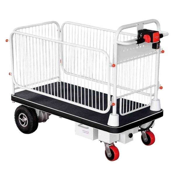 Chariot électrique autotracté - plateforme motorisée PM