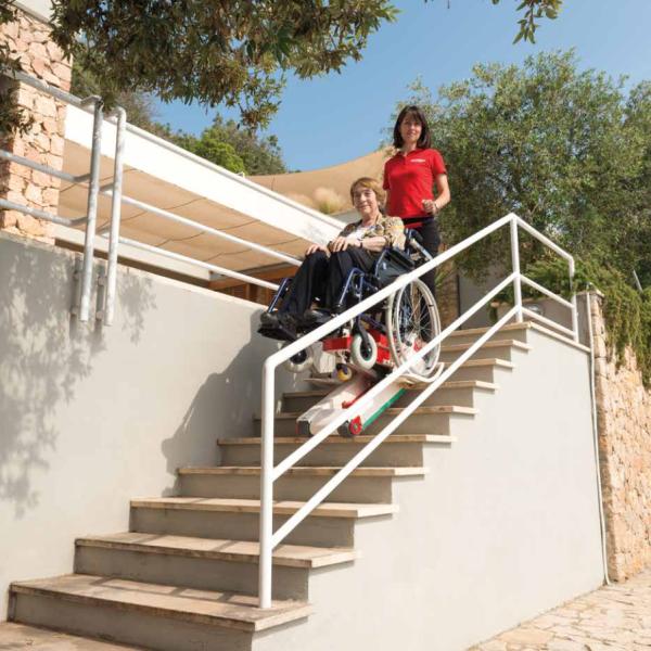 Monte escaliers pour fauteuils roulants