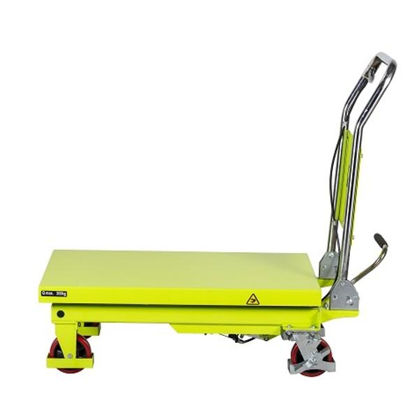 Tables élévatrices manuelles roulantes PRAMAC série LT