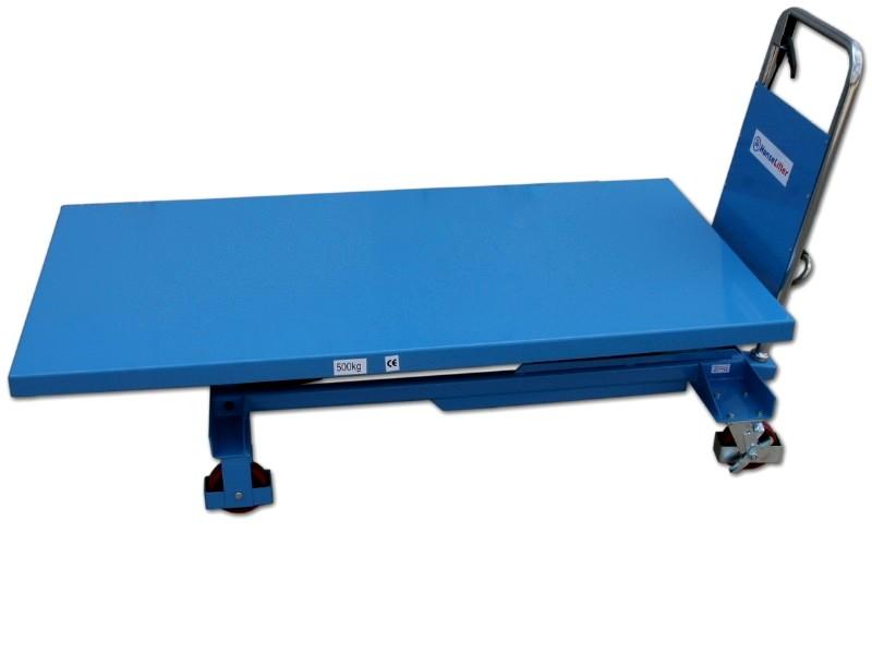Table élévatrice roulante manuelle HANSELIFTER SPB500