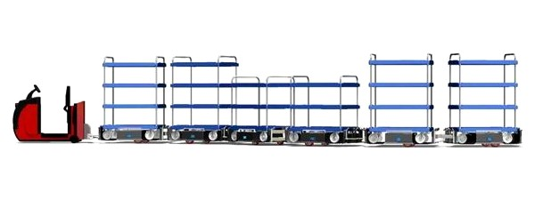Train logistique Liftliner Twinlift