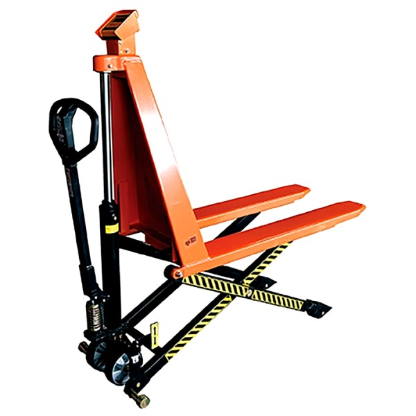 Transpalette à ciseaux à levée haute avec pesage HB 1056